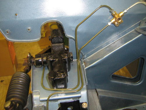 Mgb Brake Line Routing : Brake lines going in mg midget forum experience