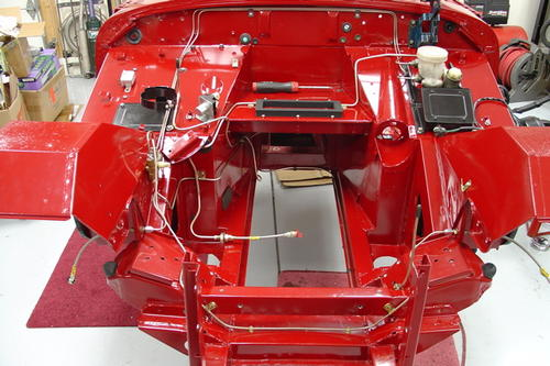 Brake lines  done    MG Midget Forum   MG Experience