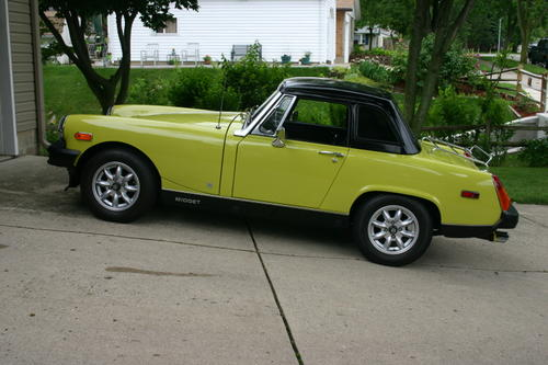 Hardtop for mg midget