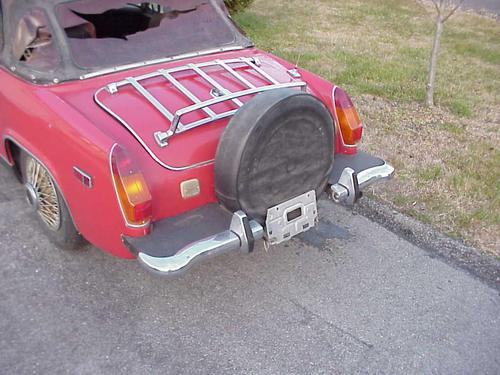 Spares for an mg midget