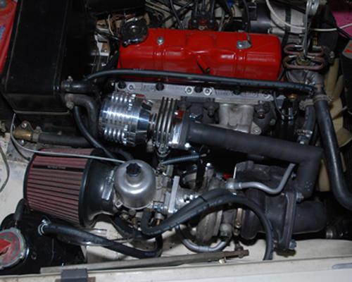 Mg midget turbocharger