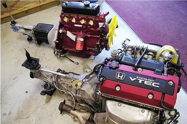 Honda Vtech Engine swap : MG Engine Swaps Forum : MG ...