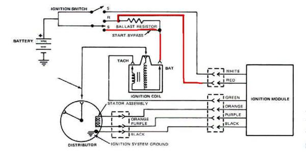durasparkwiring electronic ignition and ballast resistors question mg engine ballast resistor wiring diagram at gsmx.co