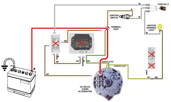 wiring diagram for gm one wire alternator wiring cs130 one wire alternator wiring diagram wiring diagram and on wiring diagram for gm one wire
