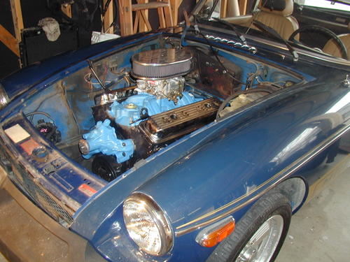 v8 conversion kit : MG Engine Swaps Forum : MG Experience