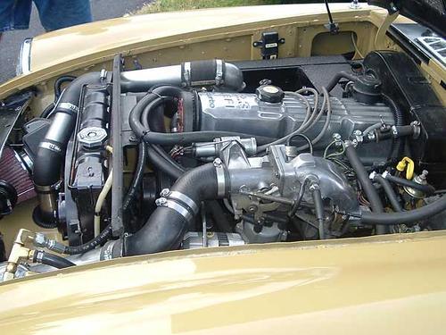 engine Pinto midget
