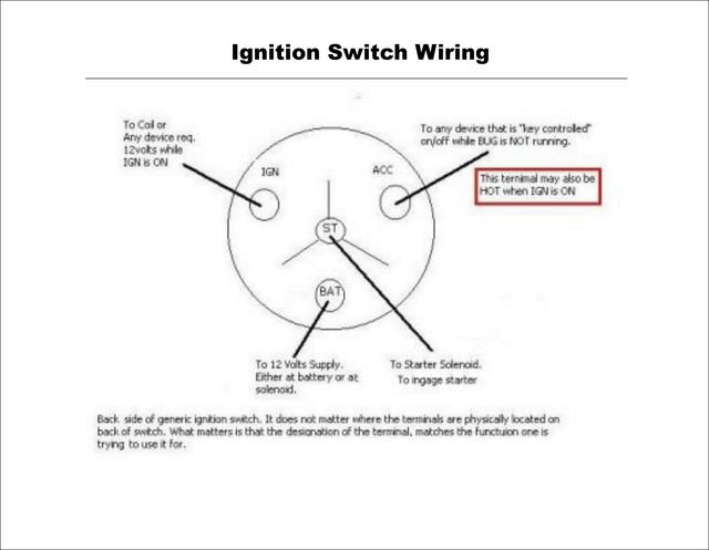 31 4 Pole Ignition Switch Wiring Diagram