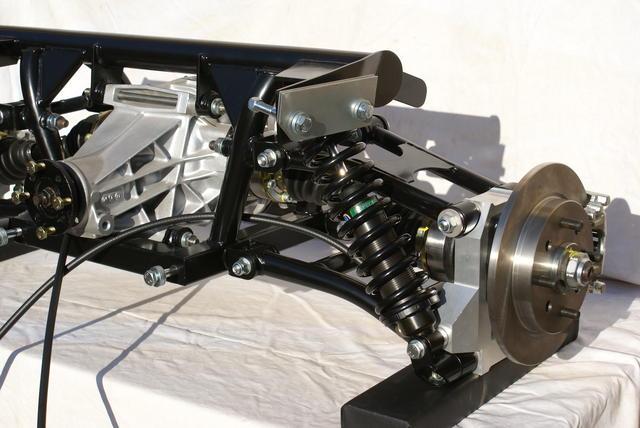 Independent Rear Suspension based on Miata V8 recipe : MG