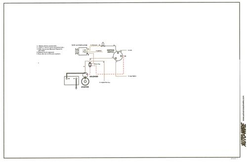 one wire alternator mg engine swaps forum mg experience forums 1965 mgb alternator diagram jpg