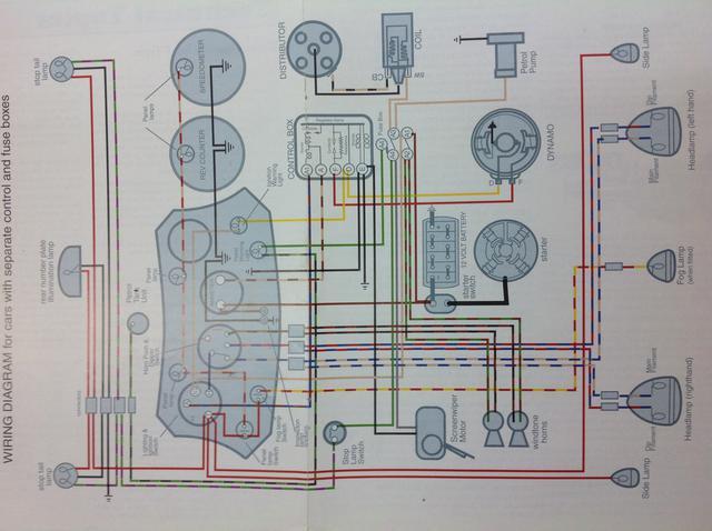 mg turn signal wiring diagram rewiring early td t series   prewar forum mg experience forums  rewiring early td t series   prewar