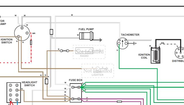 Wiring Diagram for Tachometer : MGC Forum : MG Experience Forums : The MG  ExperienceThe MG Experience