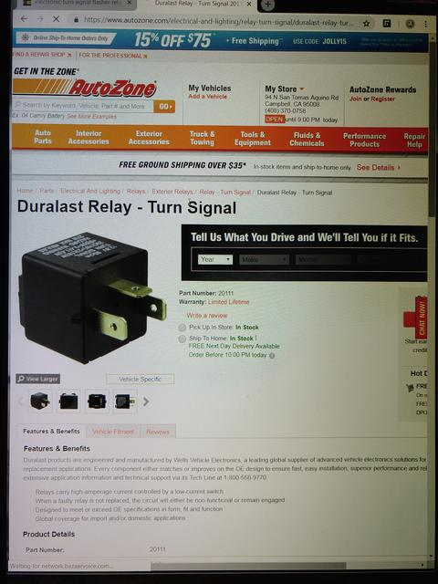 Turn Signal Relay : MGC Forum : MG Experience Forums : The