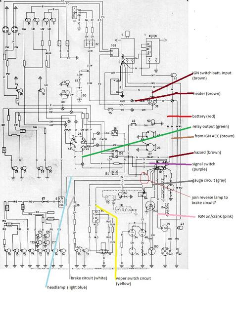 Installing New Wiring Harness   1100  U0026 1300 Forum   Mg