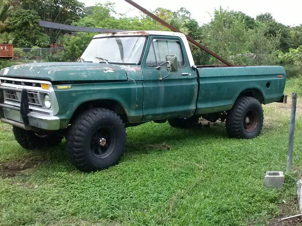 my next project is almost underway 77 f250 highboy other vehicles
