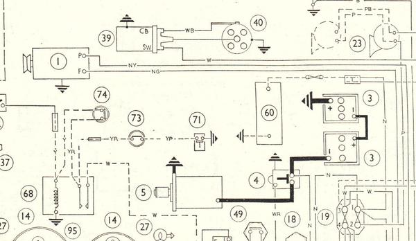 the mgb battery and battery box configuration to 1974 page 3 mgb mk i positive earth wiring diagram 1962 1967 early bently jpg