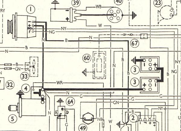 MGB_NEG_Earth_MKII_Wiring_Diagram_1967_Late 1969 the mgb battery and battery box configuration to 1974 (page 3 austin healey 3000 wiring diagram at alyssarenee.co