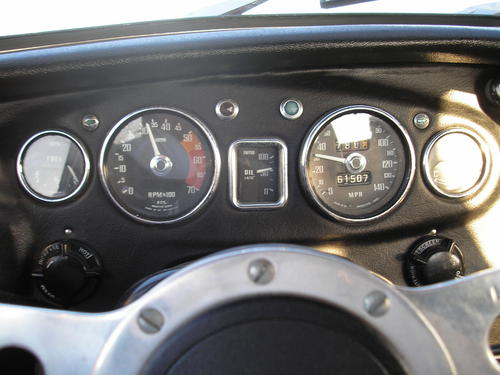 Land Rover Discovery 1970 >> 1969 MGB Dash layout : MGB & GT Forum : MG Experience Forums : The MG Experience