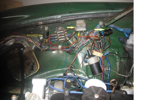 Help identifing electrical parts on 1980 : MGB & GT Forum ...
