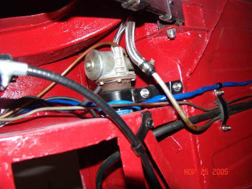 Rear Wiring Harness Routing  Trunk Exit To Floor Pan   Mgb