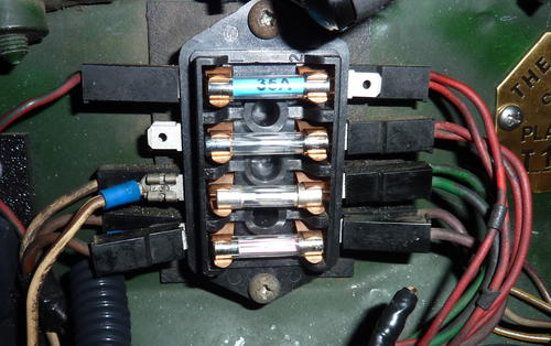 Fuse Box and Fuel Pump Question MGB amp GT Forum MG
