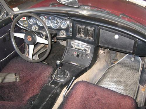 how to clean mgb dashboard