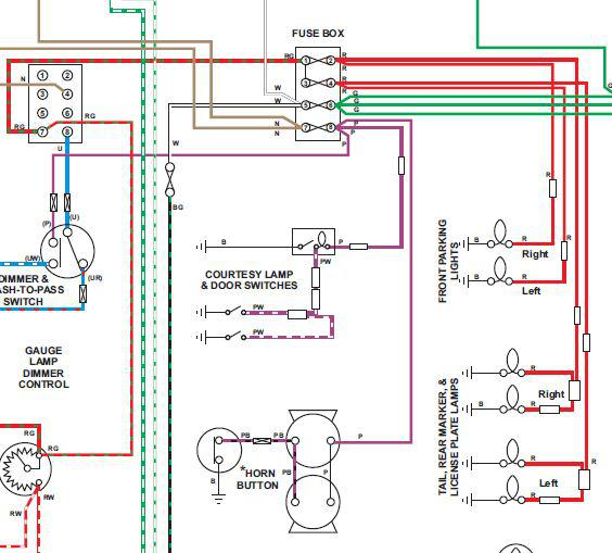 1970 mgb wiring schematic tail lights : mgb & gt forum : mg experience forums : the ...