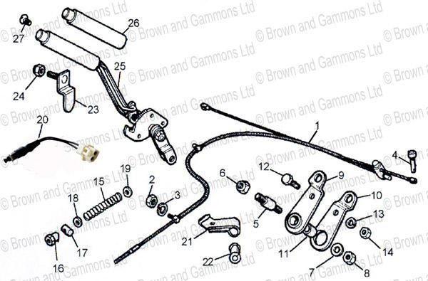 replacing handbrake cable   mgb  u0026 gt forum   mg experience