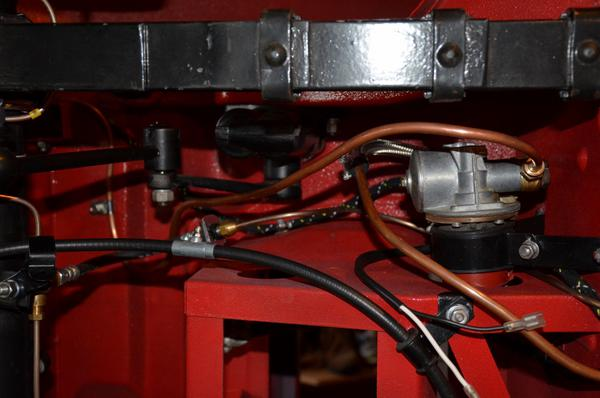 Mgb Brake Line Routing : Mgb rear hard fuel line tank to pump routing
