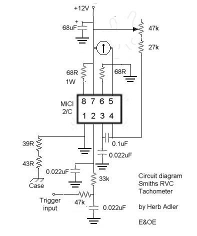 Lovely mgb tach wiring diagram contemporary electrical circuit trying to find a electrical diagram of the circuit in a smiths rvc asfbconference2016 Image collections