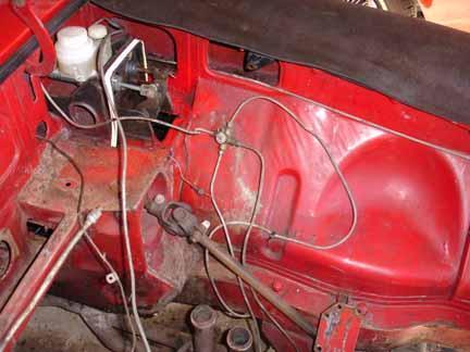 wiring harness dash routing mgb gt brake line    routing    on my 68    mgb     amp     gt    forum mg  brake line    routing    on my 68    mgb     amp     gt    forum mg