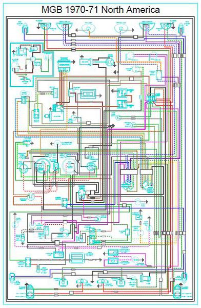wiring diagram breakdown for 79b available mgb gt. Black Bedroom Furniture Sets. Home Design Ideas