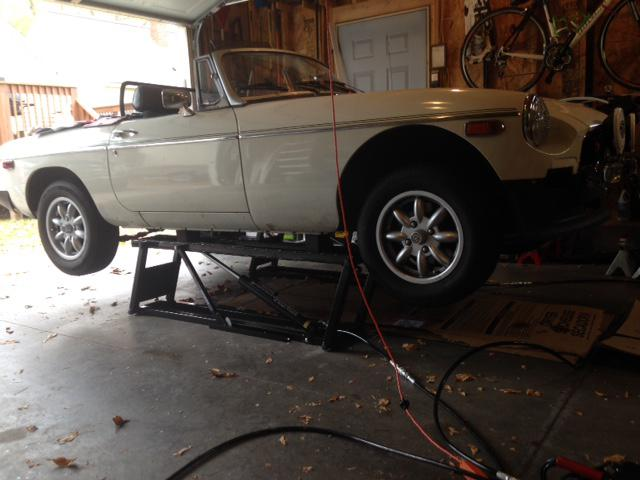 Car Lifts Page 2 Mgb Amp Gt Forum Mg Experience Forums