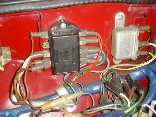 fuse box location? : MGB & GT Forum : MG Experience Forums