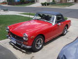 Matthew O Keefe 1974 MG Midget MkIII Red