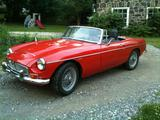 Hans Jensen 1969 MG MGC Red