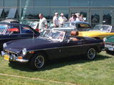 Brandon Fox 1973 MG MGB MkIII Black Tulip