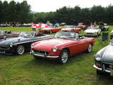 David Terhune 1974 MG MGB Tarten Red