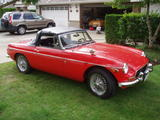 Paul McLaren 1970 MG MGB Flame Red