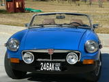 Lloyd Hess 1977 MG MGB blue