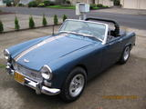Robert Park 1967 Austin Healey Sprite Blue