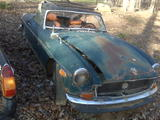 Thomas Gilbert 1971 MG MGB Green