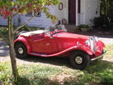 Rob Edwards 1951 MG TD MkII Red
