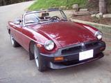 hans nevrkla 1977 MG MGB red