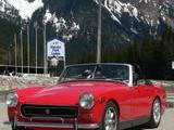 Andrew Hardie 1972 MG Midget flame red