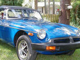 Bill Taylor 1976 MG MGB Tahaiti Blue