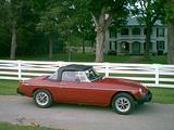 Stephen Stites 1979 MG MGB OXIDIZED CARMINE RED