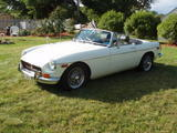 Peter Arnold 1970 MG MGB white