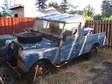 Kris Schmidt 1955 Land Rover Defender One Ten blueish