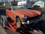 Steve Sargent 1972 MG Midget MkIII Varied