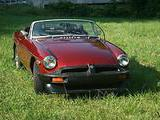Don Baum 1976 MG MGB Red